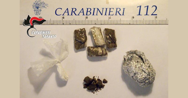 Armi e droga: pioggia di arresti nel tarantino, brindisino e Bologna