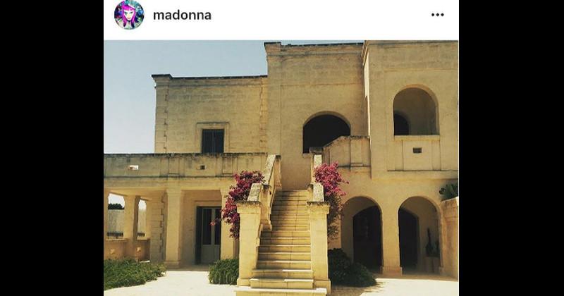 Madonna stregata dalla Puglia: la popstar visita la cattedrale di Lecce